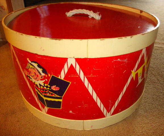 1950s early 1960s ToyChest