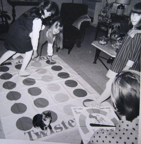 1966 Twister Game
