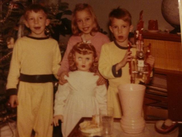 1960 Christmas - Tall Doll & Mr. Machine