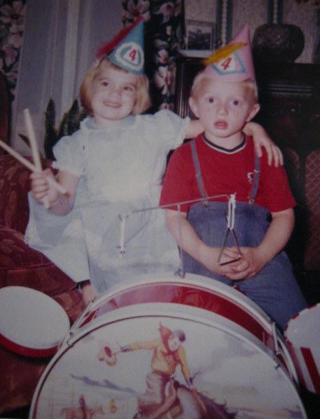 1960 Cowboy Drum Set
