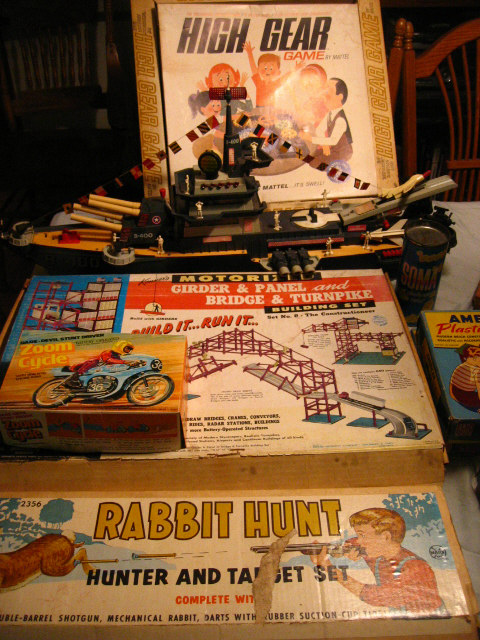 Some of the cool toys we found!