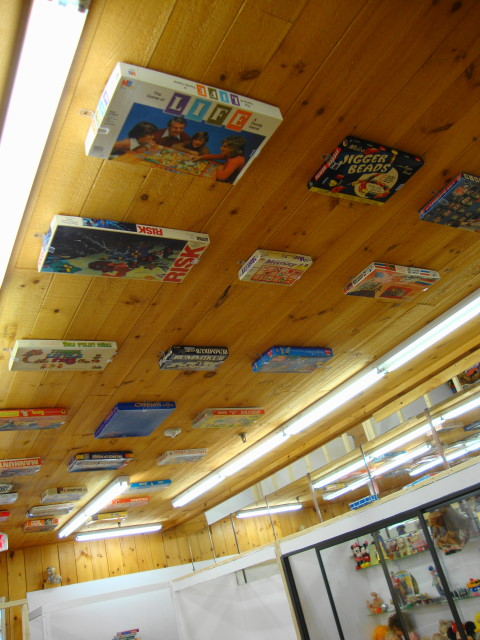 GAMES Attached to Ceiling! Awesome!