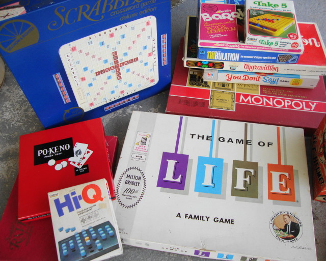 Nice Games - Mostly Unplayed with!