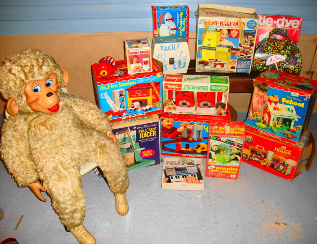 Our items from On Site Estate Auction! WOWEE!