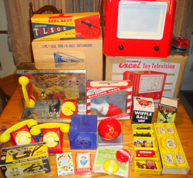 1950s 1960s Toy Collection