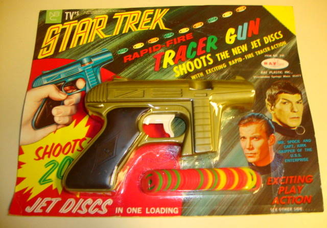 1967 Star Trek Tracer Gun