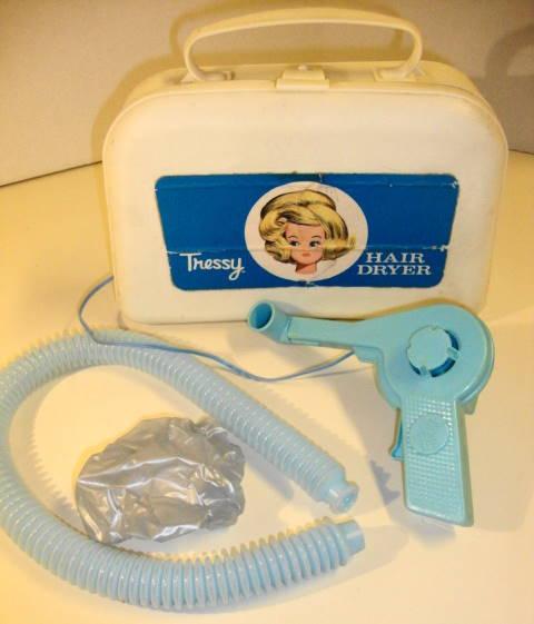 1960s Tressy Doll Hair Dryer