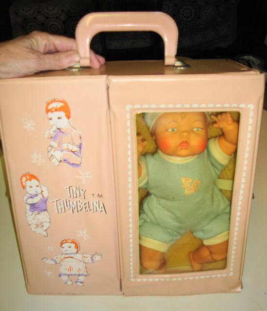 Tiny Thumbelina Doll by Ideal