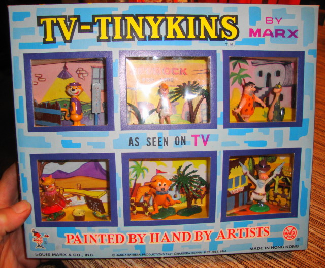 1961 TV Tinykins by Marx