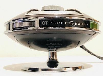 GE UFO Sound Saucer Transistor Radio!