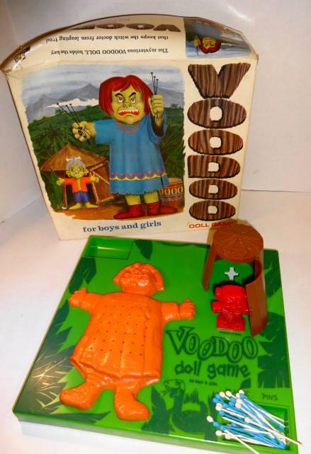 1967 VooDoo Doll Game by Schaper