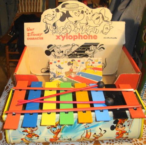 1960s Walt Disney Xylophone