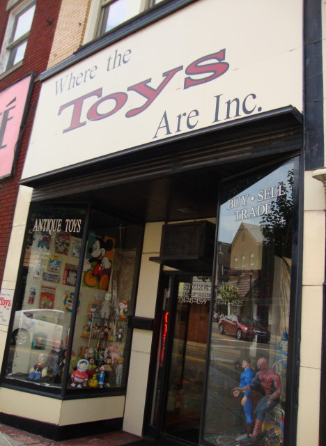 Where The Toys Are in Canonsburg PA