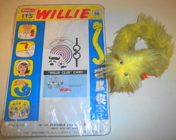 1964 Willie Furry Toy by Wham-O