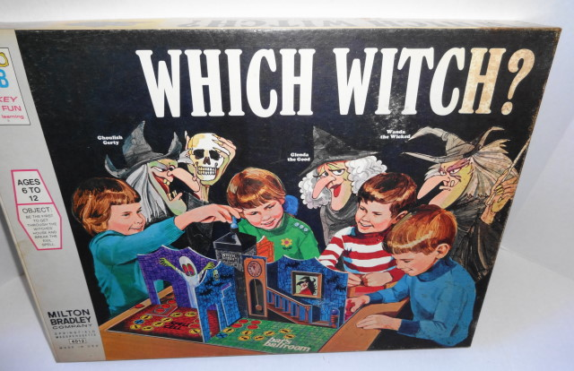 1970 Witch Witch? Game