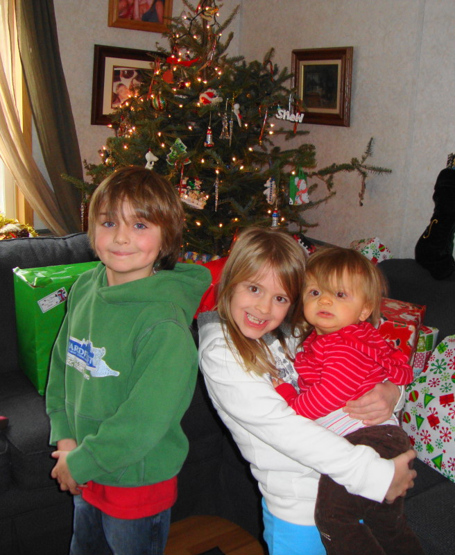 Our 3 Grand Kids ages 9, 7 & 1.