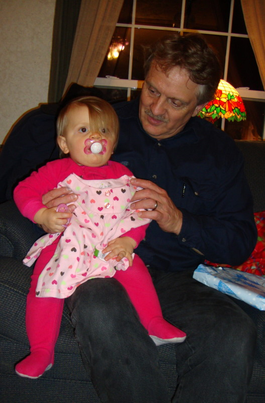 My Hubby Brian w/ Grand daughter