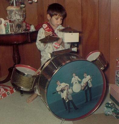 Xmas 1966 Drum Set