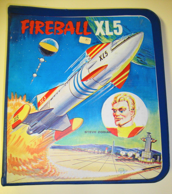 Fireball XL5 School Loose Leaf Binder 1963